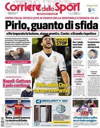 capa Corriere dello Sport de 2 fevereiro 2021