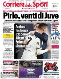 capa Corriere dello Sport de 10 fevereiro 2021