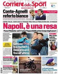 capa Corriere dello Sport de 11 fevereiro 2021