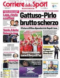 capa Corriere dello Sport de 12 fevereiro 2021
