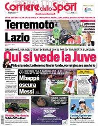 capa Corriere dello Sport de 17 fevereiro 2021