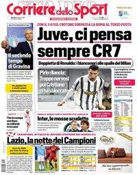 capa Corriere dello Sport de 23 fevereiro 2021
