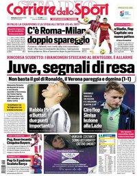 capa Corriere dello Sport de 28 fevereiro 2021
