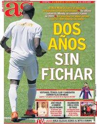 capa Jornal As de 2 fevereiro 2021
