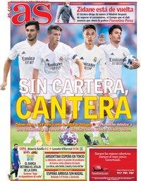 capa Jornal As de 3 fevereiro 2021