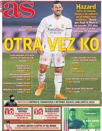 capa Jornal As de 4 fevereiro 2021