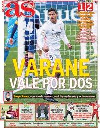 capa Jornal As de 7 fevereiro 2021