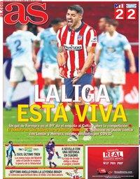capa Jornal As de 9 fevereiro 2021
