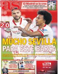 capa Jornal As de 11 fevereiro 2021