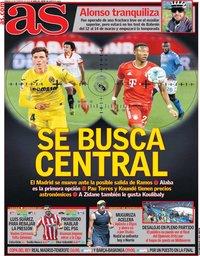 capa Jornal As de 13 fevereiro 2021