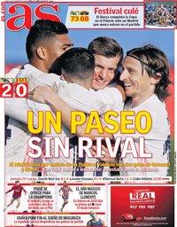 capa Jornal As de 15 fevereiro 2021