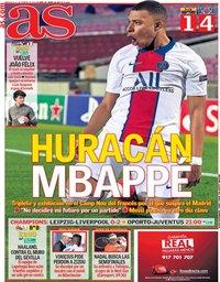 capa Jornal As de 17 fevereiro 2021