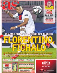 capa Jornal As de 18 fevereiro 2021