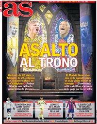 capa Jornal As de 19 fevereiro 2021