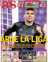 capa Jornal As de 21 fevereiro 2021