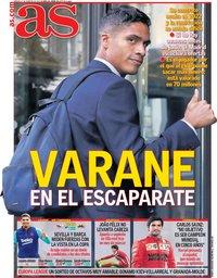 capa Jornal As de 27 fevereiro 2021