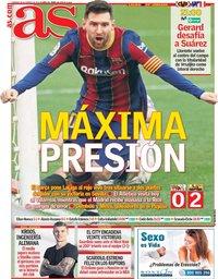 capa Jornal As de 28 fevereiro 2021