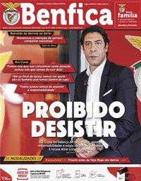 capa Jornal Benfica de 5 fevereiro 2021