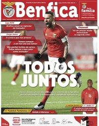 capa Jornal Benfica de 12 fevereiro 2021