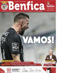 capa Jornal Benfica de 19 fevereiro 2021