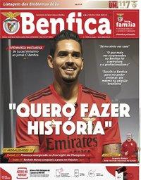 capa Jornal Benfica de 26 fevereiro 2021