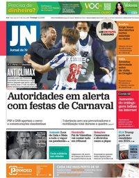 capa Jornal de Notícias de 14 fevereiro 2021