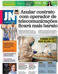 capa Jornal de Notícias de 17 fevereiro 2021