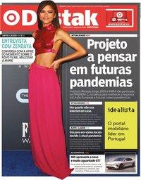 capa Jornal Destak de 15 fevereiro 2021