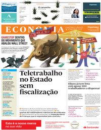 capa Jornal Expresso Economia de 6 fevereiro 2021