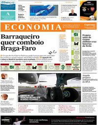 capa Jornal Expresso Economia de 13 fevereiro 2021