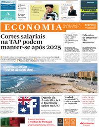 capa Jornal Expresso Economia de 27 fevereiro 2021
