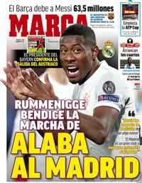 capa Jornal Marca de 2 fevereiro 2021