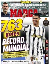 capa Jornal Marca de 3 fevereiro 2021
