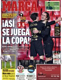 capa Jornal Marca de 4 fevereiro 2021