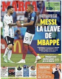 capa Jornal Marca de 5 fevereiro 2021