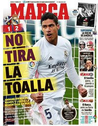 capa Jornal Marca de 7 fevereiro 2021