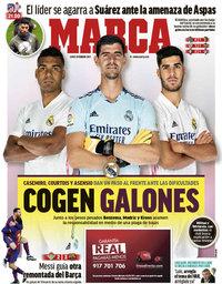 capa Jornal Marca de 8 fevereiro 2021