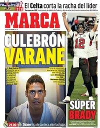 capa Jornal Marca de 9 fevereiro 2021