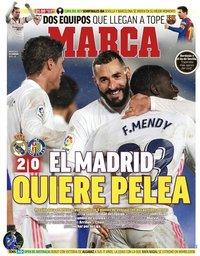 capa Jornal Marca de 10 fevereiro 2021