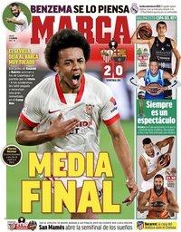 capa Jornal Marca de 11 fevereiro 2021