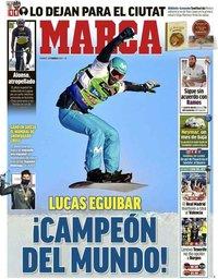 capa Jornal Marca de 12 fevereiro 2021