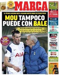 capa Jornal Marca de 13 fevereiro 2021