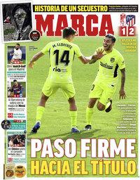 capa Jornal Marca de 14 fevereiro 2021