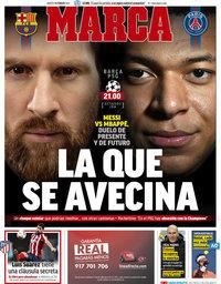 capa Jornal Marca de 16 fevereiro 2021
