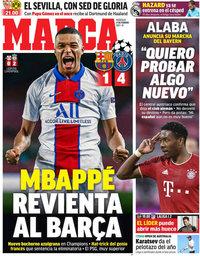 capa Jornal Marca de 17 fevereiro 2021
