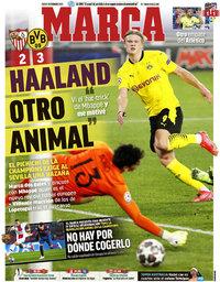 capa Jornal Marca de 18 fevereiro 2021