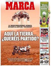 capa Jornal Marca de 19 fevereiro 2021