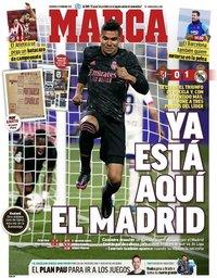 capa Jornal Marca de 21 fevereiro 2021