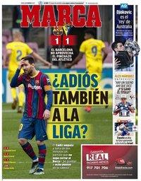 capa Jornal Marca de 22 fevereiro 2021