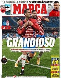capa Jornal Marca de 26 fevereiro 2021